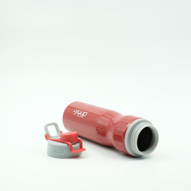 Youp Thermosteel red color sports series sipper bottle YPS7505 - 750 ml