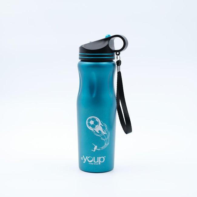 Youp Thermosteel blue color sports series sipper bottle YPS8502 - 850 ml