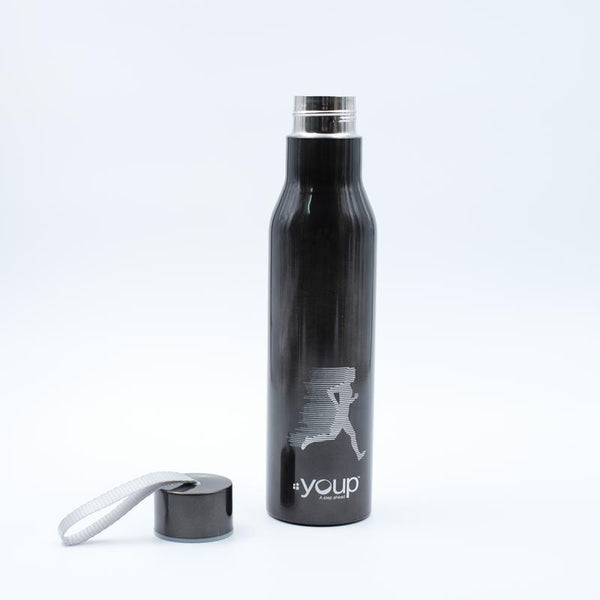 Youp Thermosteel black color sports series bottle YPS7507 - 750 ml