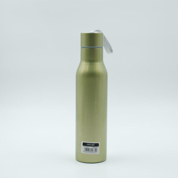 Youp Thermosteel metallic green color sports series bottle YPS7507 - 750 ml