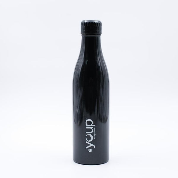 Youp Thermosteel black color Bottle YP802 - 800 ml