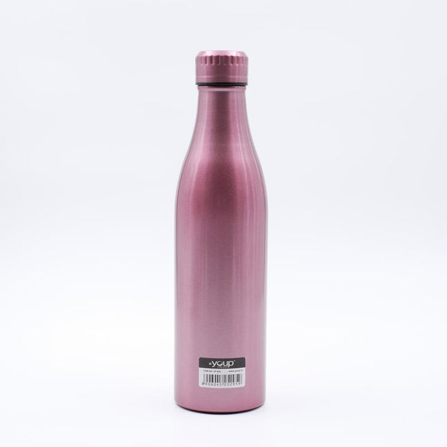 Youp Thermosteel metallic pink color Bottle YP802 - 800 ml