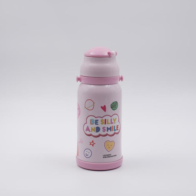 Youp Stainless steel pink color Peppa Pig kids sipper bottle PP509 - 500 ml