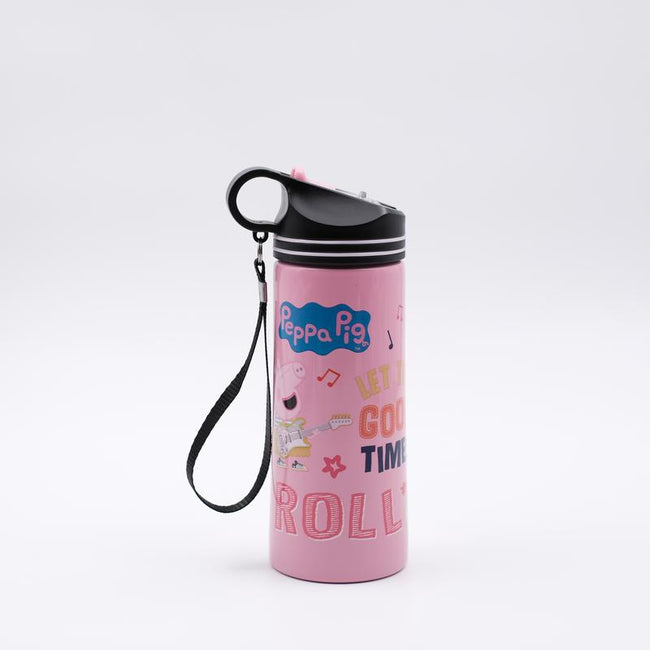 Youp Stainless steel pink color Peppa Pig kids sipper water bottle PPS7500 - 750 ml