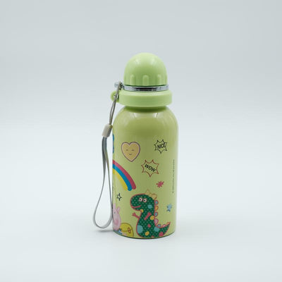 Youp Stainless steel green color Peppa Pig kids sipper water bottle PPS5000 - 500 ml
