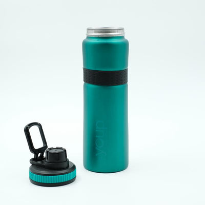 Youp Thermosteel green color sports series sipper bottle YPS7508 - 750 ml