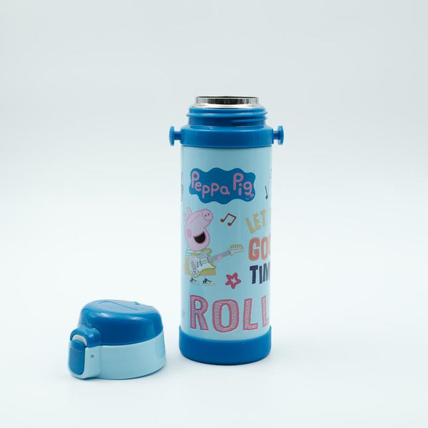 Youp Stainless steel blue color Peppa Pig kids sipper bottle PP517 - 500 ml