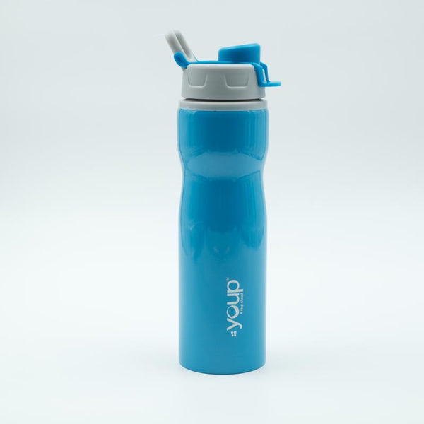 Youp Thermosteel blue color sports series sipper bottle YPS7505 - 750 ml