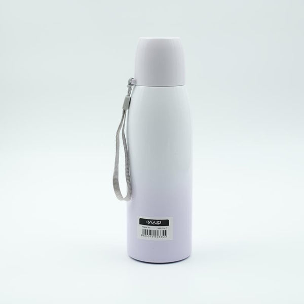 Youp Thermosteel mauve color water bottle with cup cap YP513 - 500 ml
