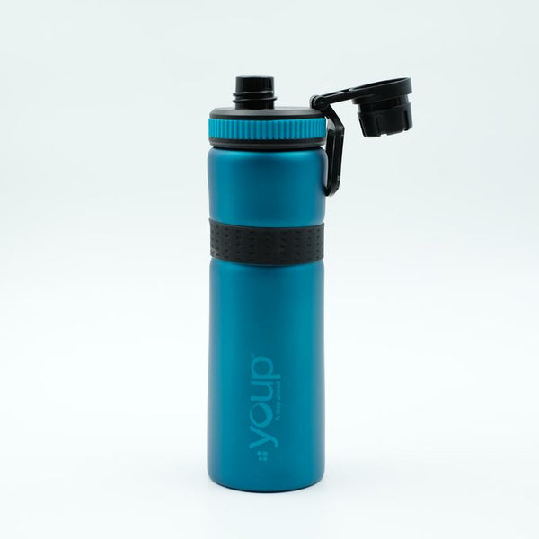 Youp Thermosteel blue color sports series sipper bottle YPS7508 - 750 ml