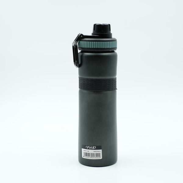 Youp Thermosteel dark grey color sports series sipper bottle YPS7508 - 750 ml
