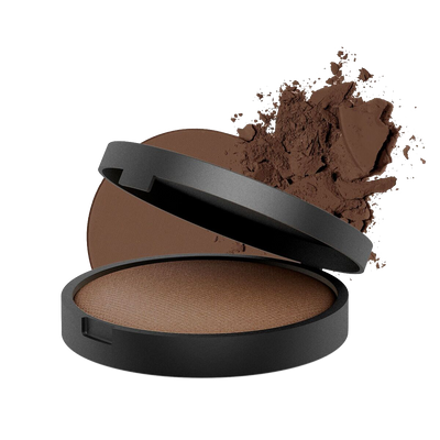 Inika Organic Baked Mineral Foundation Powder Fortitude 8g (halal/vegan)