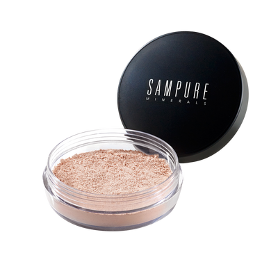 Sampure Minerals Instant Glow Mineral Loose Illuminating Powder Sparkle (halal/vegan)