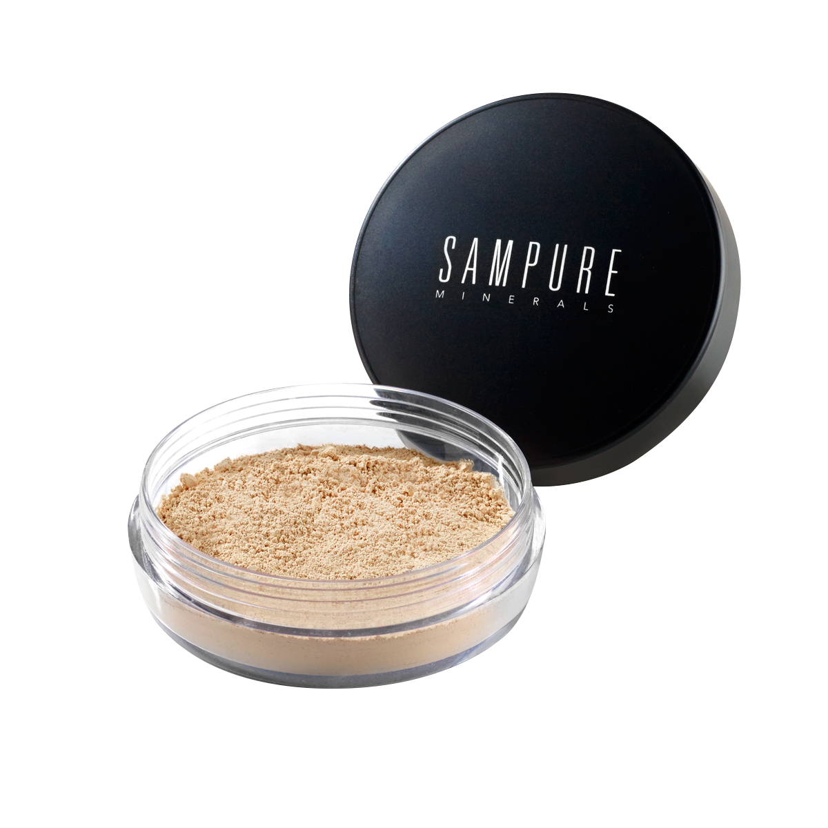 Sampure Minerals Instant Glow Loose Mineral Foundation Sand (halal/vegan)