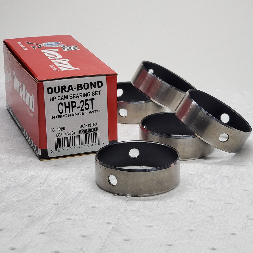 Dura-Bond CHP-25T; Chevrolet; Gen III/IV LS; Coated High Performance; Cam Bearings