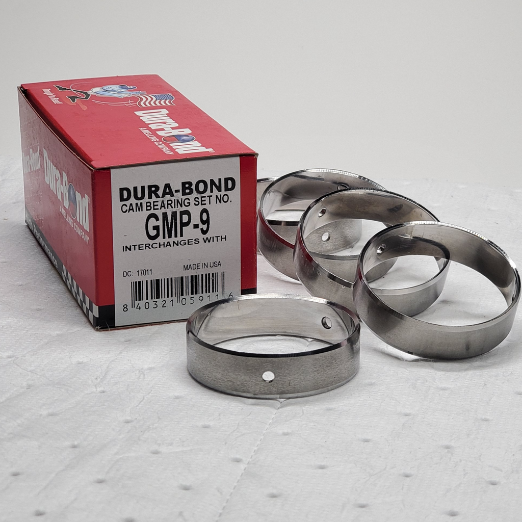 Dura-Bond GMP-9; Chevrolet; Gen III/IV LS; High Performance; LSX Block Cam Bearings