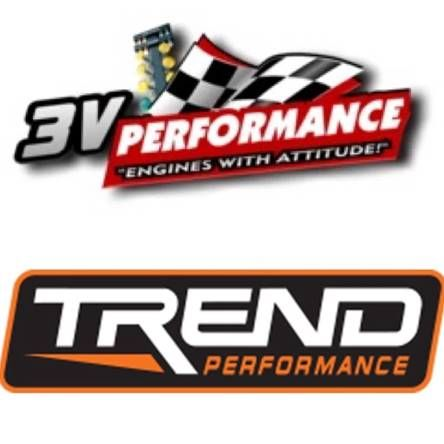 "Trend Performance; 7.325"" Length; 5/16"" Diameter; 0.080"" Wall; Set of 8 Pushrods T7325805"