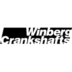 "Winberg Crankshafts; LS; 4.000"" Stroke; 2.750"" Main; 2.100"" Rod Journal; 8 Counterweight; Crankshaft LS-4000-2100-2750"