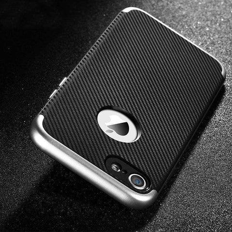 Protective iPhone Carbon Fiber Case-DooMahickeys