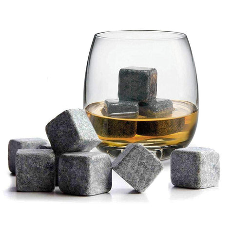 No Dilution Drink Whiskey Ice Stones 9PCS