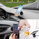 QI Magnetic Car Mount Wireless Charger For Iphone 8 Iphone X Samsung S8 S8 Plus S9 Note 8 Dashboard Air Vent Charger Holder-DooMahickeys
