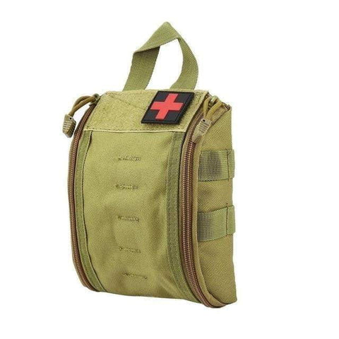 New Outdoor Portable First Aid Bag Tactical Medical Case Multifunctional Waist Pack Camping Climbing Emergency Bag Survival Kit-DooMahickeys