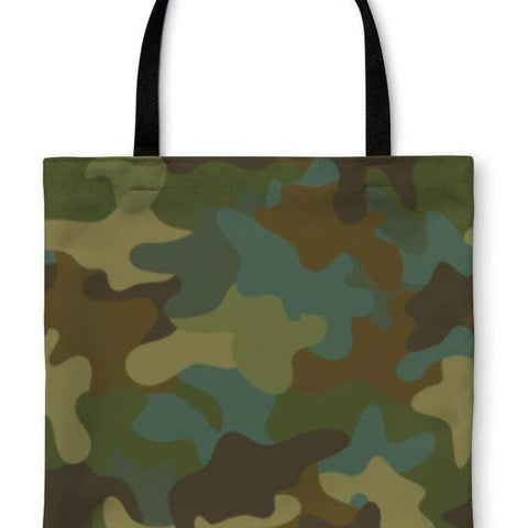 Tote Bag, Camouflage Pattern-DooMahickeys