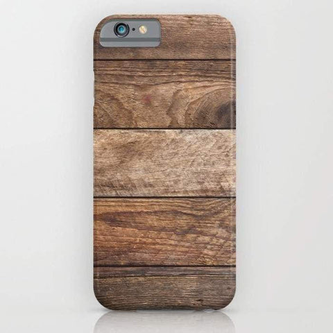 Vintage Wood Mobile Cover-Tech Accessories-DooMahickeys