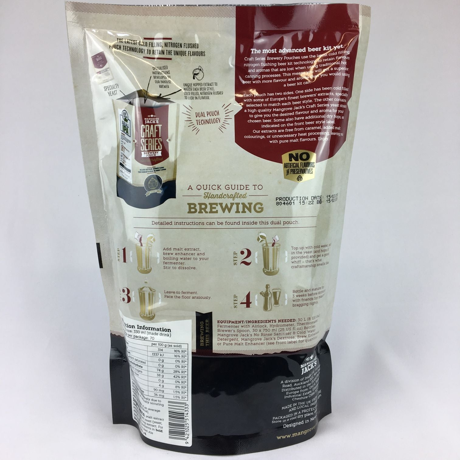 Mangrove Jacks Irish Red Ale Refill Kit