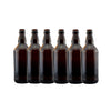 Amber Glass Beer Bottles 500ml 15's