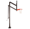 "Image of Extreme Series 72"" In Ground Basketball Hoop - Glass Backboard"