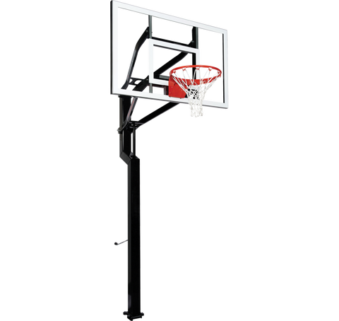 "All-Star 54"" Goalsetter In Ground Basketball Hoop - Acrylic Backboard"
