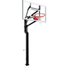 "Image of All-Star 54"" Goalsetter In Ground Basketball Hoop - Glass Backboard"