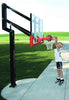 "Image of All-Star 54"" Goalsetter In Ground Basketball Hoop - Acrylic Backboard"