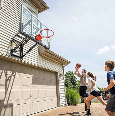 "72"" Official Size Goalsetter Wall Mount Basketball Hoop - GS72"