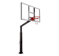 "Launch Series 60"" In-Ground Basketball Hoop - Acrylic Backboard"