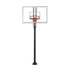 "Image of Extreme Series 54"" In Ground Basketball Hoop - Glass Backboard"