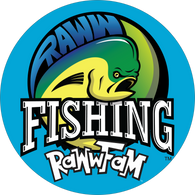 RawwFam Sticker Decal Size 8x8 Round Vinyl