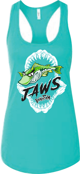 Jaws Women RacerBack Tank Top Adult