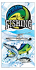 "RawwFishing Sublimated Beach Towel 30"" x 60"""