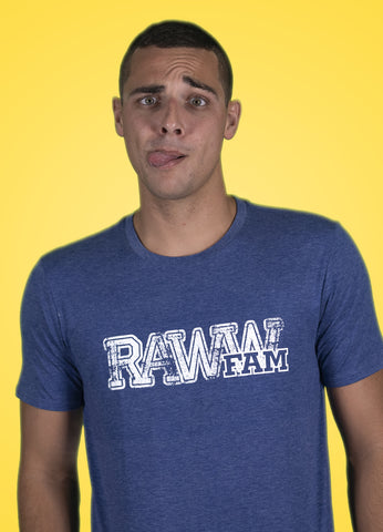 RawwFam T-Shirt Blue
