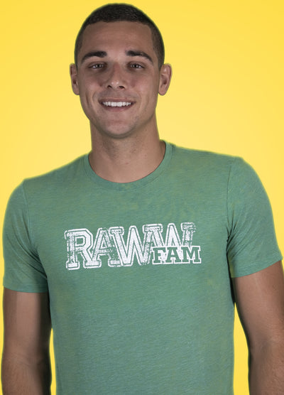 RawwFam T-Shirt Green