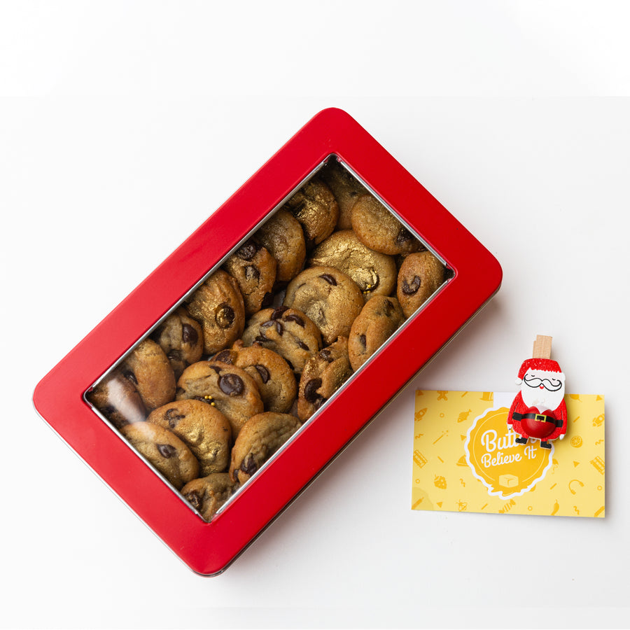 Tin of Mini Cookies [Christmas Edition]
