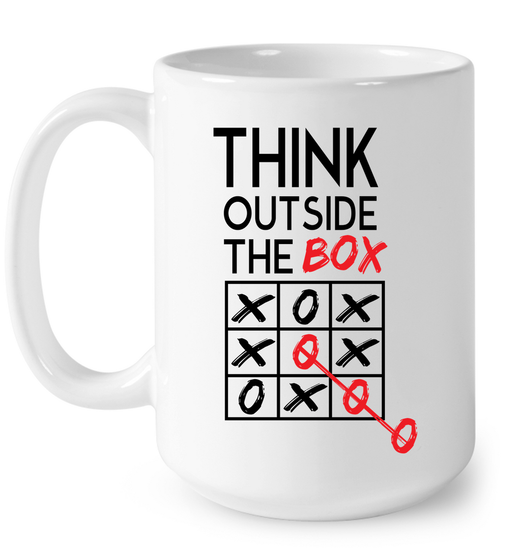 Think Outside The Box: Coffee Mug