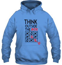 Load image into Gallery viewer, Think Outside the Box Hoodie