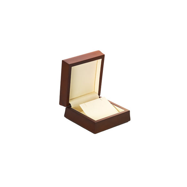 Amber Wood Pendant or Earring Box
