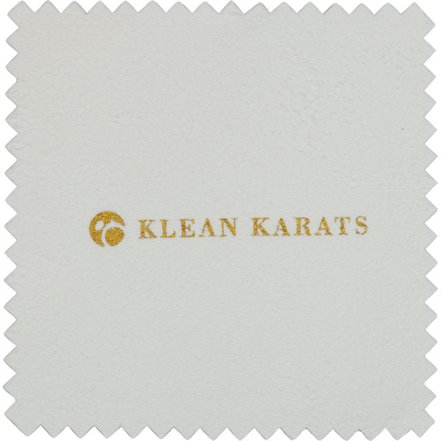 Klean Karats Treated Jewelry Polishing Chamois Cloth