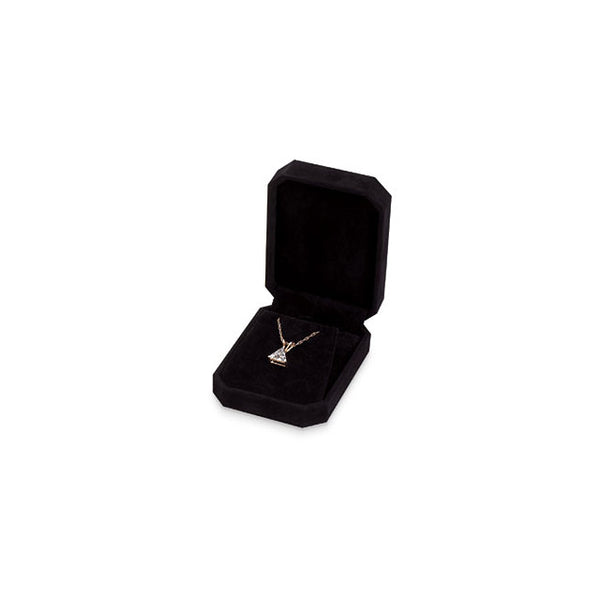 Clip-Corner Black Earring or Pendant Box