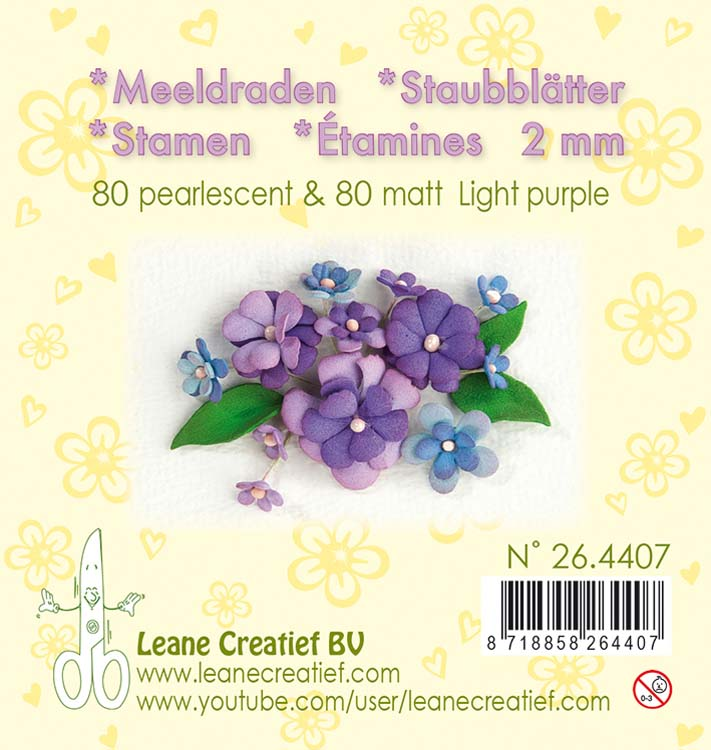 Stamen - Light Purple