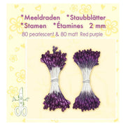 Stamen - Red Purple